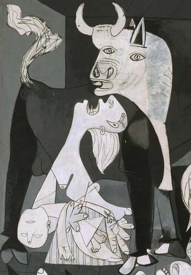 The Bull May Signify Fascism is listed (or ranked) 4 on the list Every Hidden Symbol In Picasso's Guernica
