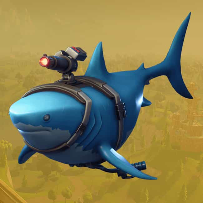 Laser Chomp is listed (or ranked) 1 on the list The Best Gliders In 'Fortnite: Battle Royale,' Ranked