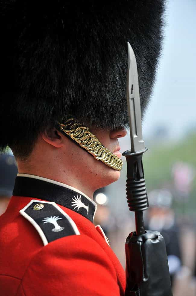 Guards Carry Live Ammunition W... is listed (or ranked) 1 on the list What It's Actually Like To Guard The Queen, According To Former Members Of The Queen's Guard
