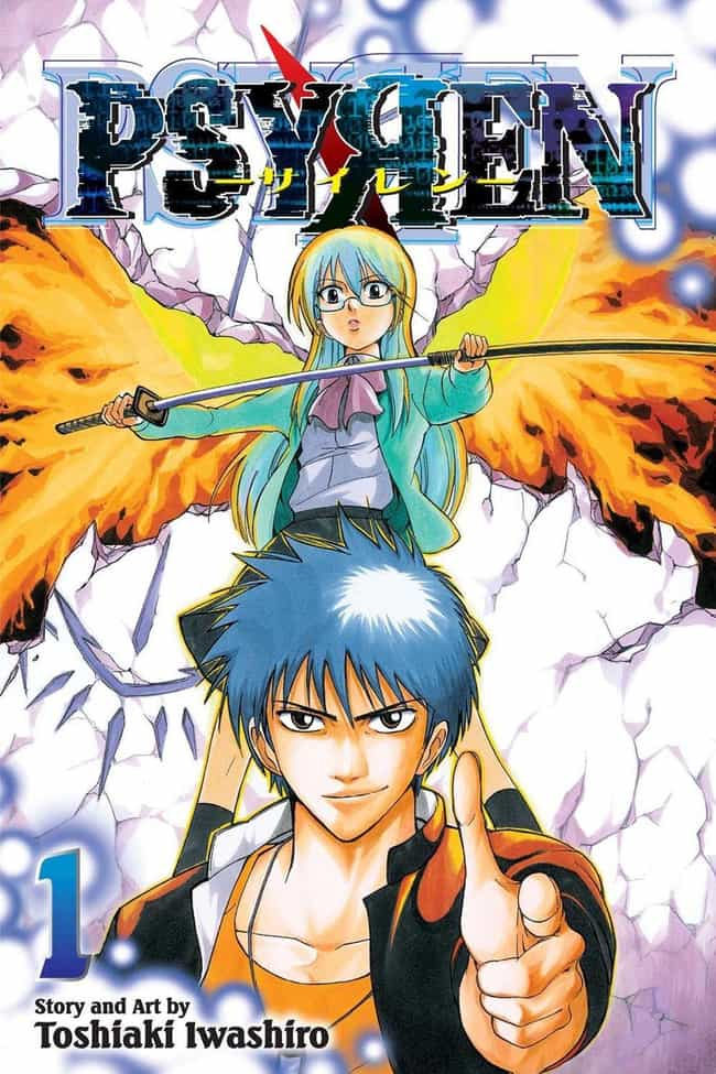Psyren is listed (or ranked) 2 on the list 15 Manga That Should Get Their Own Anime Adaptations