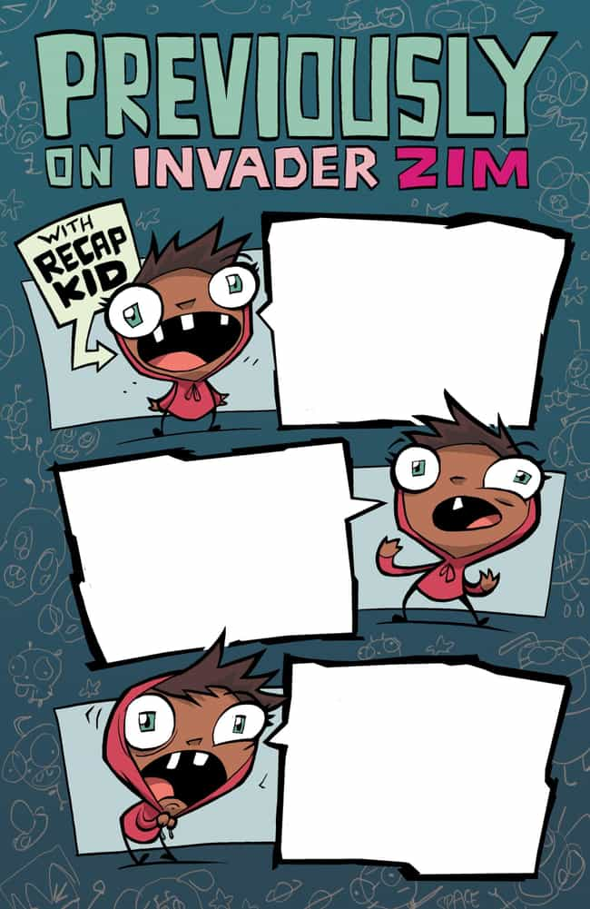 Vasquez Says Two Agender Chara... is listed (or ranked) 4 on the list Everything We Know About 'Invader Zim: Enter The Florpus'