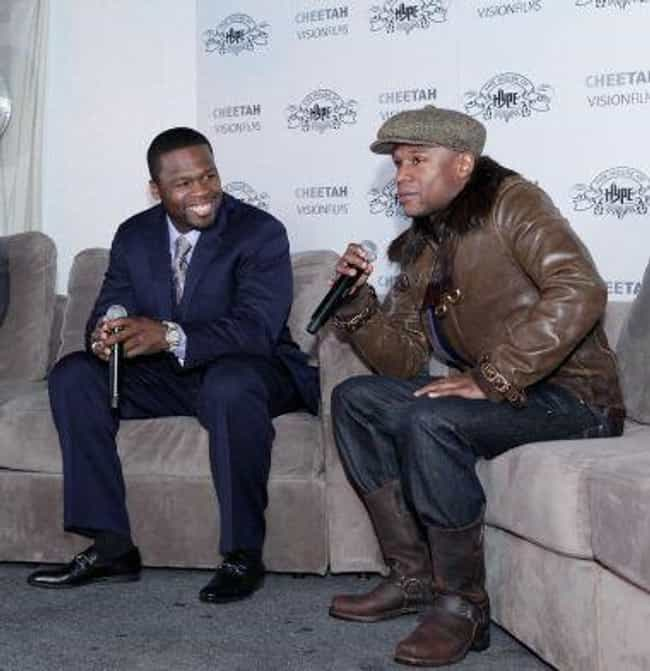 They Went Into Business Togeth... is listed (or ranked) 1 on the list 50 Cent & Floyd Maywather's Feud: A History Of Their Animosity