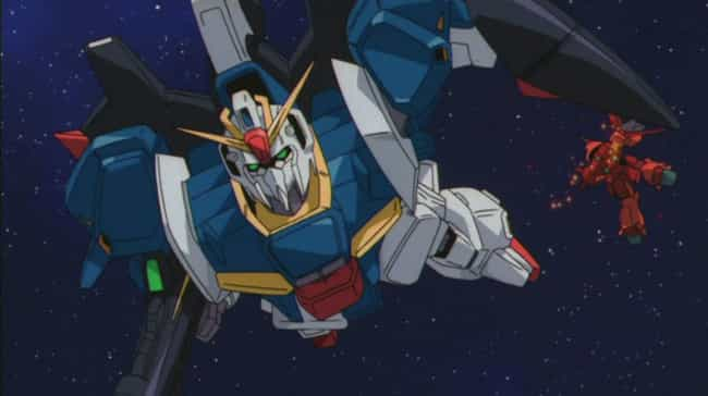 The 'Gundam' Franchise is listed (or ranked) 3 on the list 15 Extraordinary Anime About Life In Outer Space