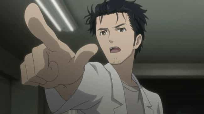 Rintaro Okabe - Steins;Gate is listed (or ranked) 3 on the list The 15 Best Chunibyo Anime Characters Who Are Completely Delusional