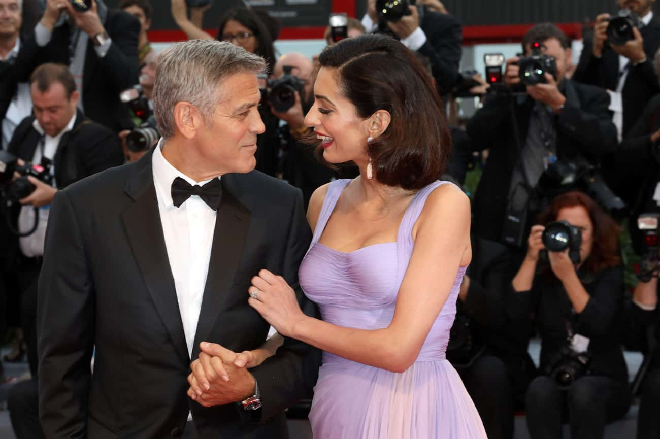 His Marriage To Amal Is Straig is listed (or ranked) 1 on the list TMI Facts About George Clooney's Sex Life