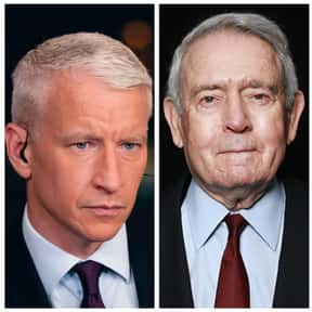 Dan Rather and Anderson Cooper is listed (or ranked) 20 on the list If You Had To Be Trapped In An Elevator With Any Celebrity, Who Would You Choose?