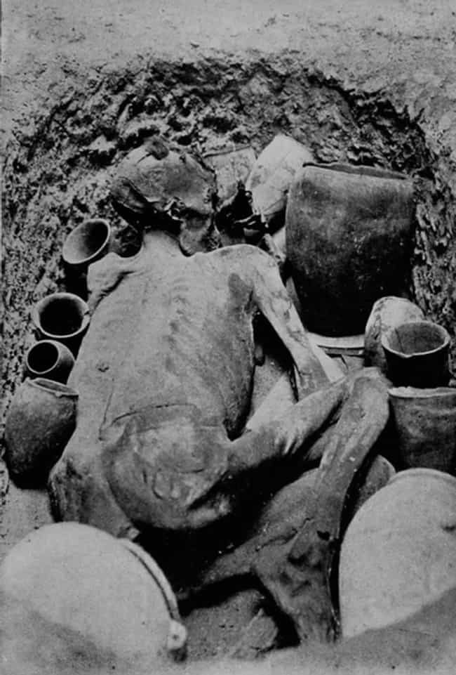 Gebelein Man Was Most Likely M... is listed (or ranked) 1 on the list You Can Visit A Tattooed 5,500-Year-Old Mummy And Even See The Wound That Killed Him