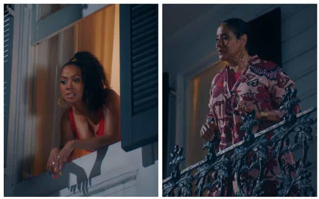 La La Anthony Plays Drake'... is listed (or ranked) 3 on the list Fun Tidbits From Drake's 'In My Feelings' Video