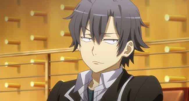 Hachiman Hikigaya - 'My Teen R... is listed (or ranked) 4 on the list 15 Anime Characters With Super Low Self-Esteem