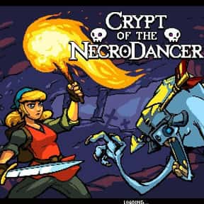 Crypt of the NecroDancer is listed (or ranked) 11 on the list The Best PlayStation 4 Rhythm Games