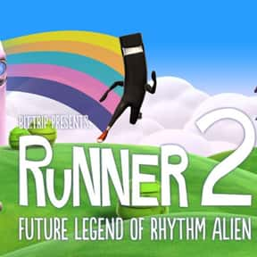 Runner2: Future Legend of Rhyt is listed (or ranked) 23 on the list The Best PlayStation 4 Rhythm Games