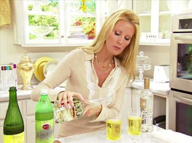 She Trained At Le Cordon Bleu,... is listed (or ranked) 1 on the list All About Sandra Lee, Food Network's Kooky Aunt
