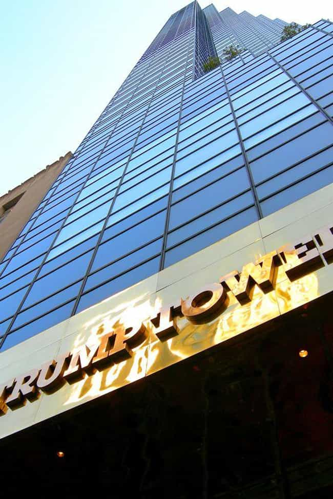 It's Aesthetically Gorgeou... is listed (or ranked) 2 on the list What's It Really Like Inside Trump Tower?
