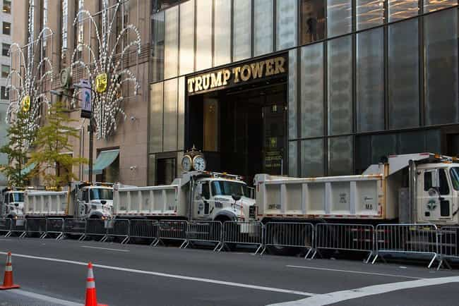 Secret Service Is Everywhere is listed (or ranked) 4 on the list What's It Really Like Inside Trump Tower?