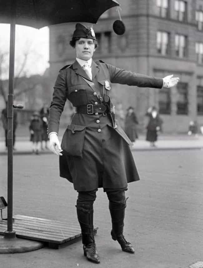 The First Female Traffic... is listed (or ranked) 4 on the list What US Police Officers Looked Liked Throughout History