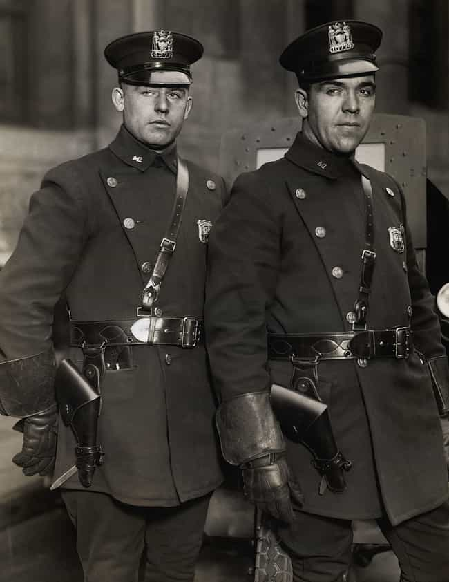 NYC Motorcycle Officers ... is listed (or ranked) 3 on the list What US Police Officers Looked Liked Throughout History