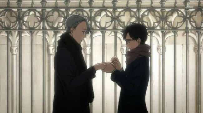 There's Meaning Behind The... is listed (or ranked) 4 on the list 11 Intriguing Yuri!!! on ICE Fan Theories