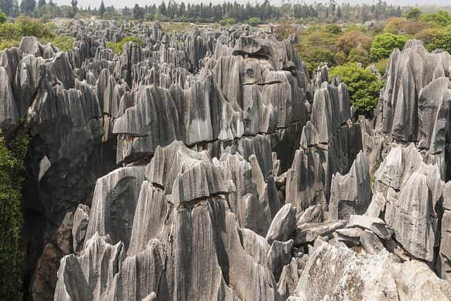 Stone Forest - China is listed (or ranked) 5 on the list The World's Most Unreal Geological Formations