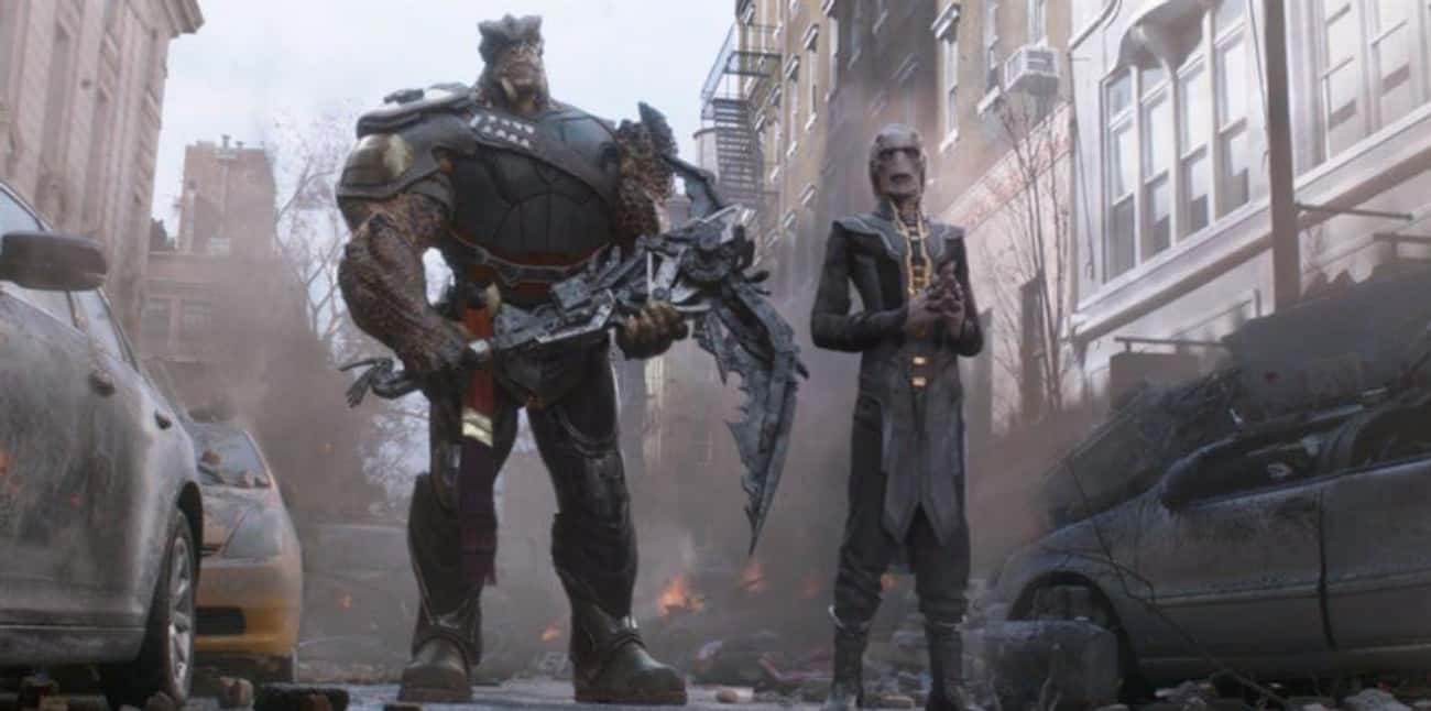Cull Obsidian Has Captain Marv is listed (or ranked) 1 on the list 'Avengers: Infinity War' Easter Eggs Most People Missed