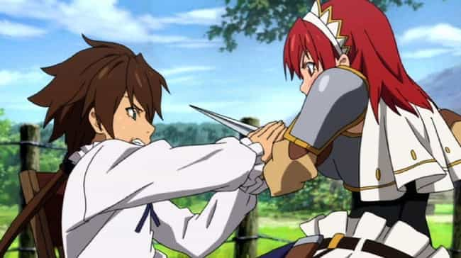 The Sacred Blacksmith is listed (or ranked) 2 on the list The 14 Most Fantastically Mediocre Anime Ever Created