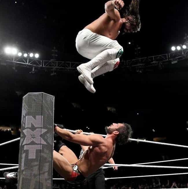 Andrade Cien Almas Vs. J... is listed (or ranked) 1 on the list The Greatest NXT TakeOver Matches Of All Time