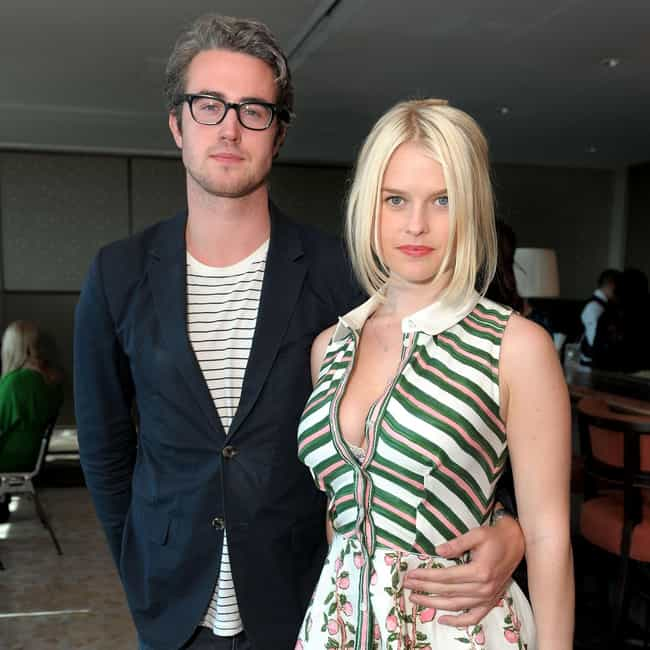 Adam O'Riordan is listed (or ranked) 2 on the list Alice Eve Loves and Hookups