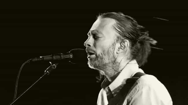 He Has A Drooping Eyelid... is listed (or ranked) 1 on the list 12 Things You Didn't Know About Radiohead's Thom Yorke
