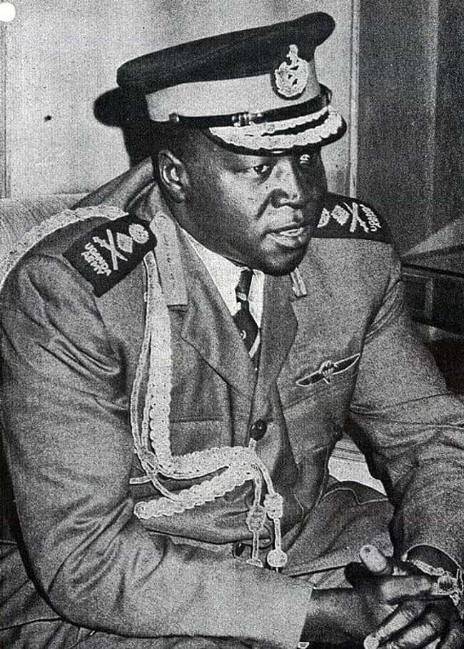 1971: Brutal Leader Idi Amin S... is listed (or ranked) 2 on the list What Was The Biggest News Story The Year You Were Born?