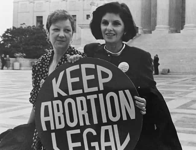1973: The Roe V. Wade Supreme ... is listed (or ranked) 4 on the list What Was The Biggest News Story The Year You Were Born?