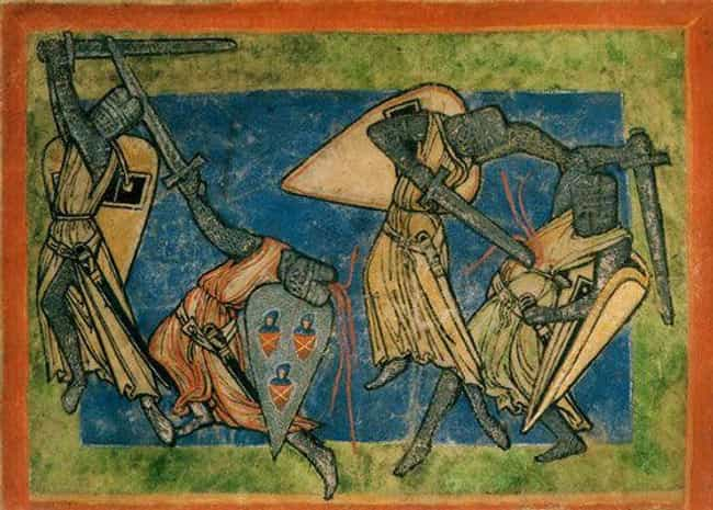 If Injured, You Receive Horrif... is listed (or ranked) 3 on the list What It Was Like To Be On The Front Lines Of A Medieval Battle