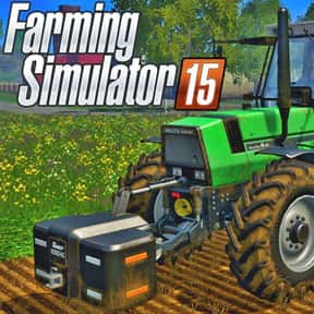 Farming Simulator 15 is listed (or ranked) 16 on the list The Best Xbox One Simulation Games