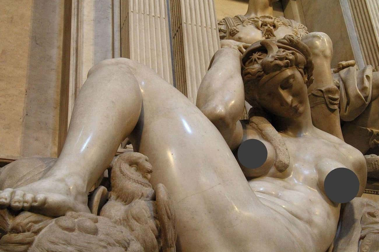 He Was A Master Of The Male Form, But Breasts Baffled Him