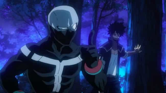 Twice is listed (or ranked) 4 on the list The 23 Best 'My Hero Academia' Villains To Appear So Far