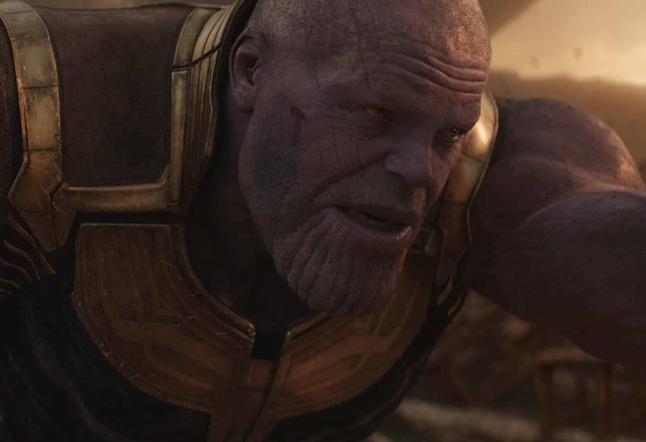 Thanos Has Hair