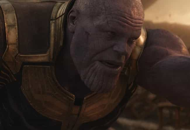 Thanos Has Hair is listed (or ranked) 1 on the list Details Infinity War Fans Didn't Catch… Until They Watched It In 4K