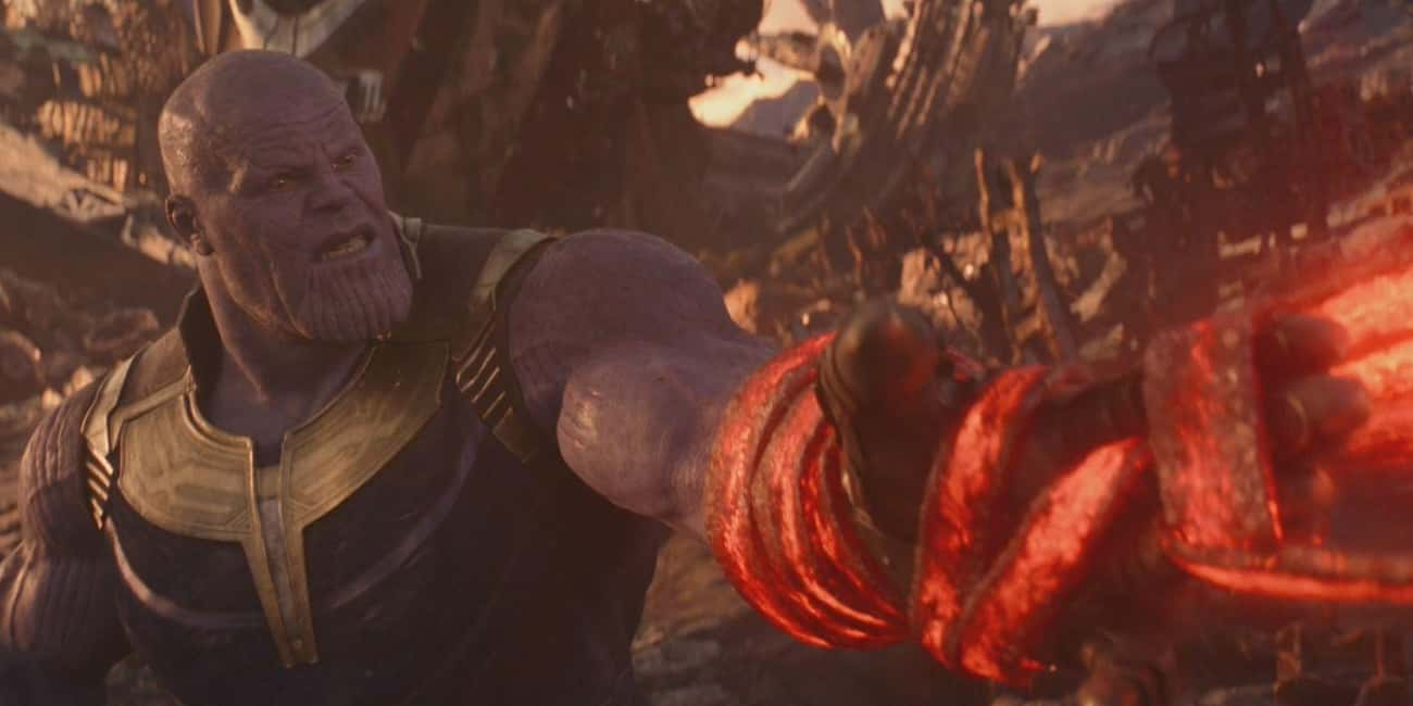 Thanos Fears The Crimson Bands is listed (or ranked) 4 on the list Details Infinity War Fans Didn't Catch… Until They Watched It In 4K