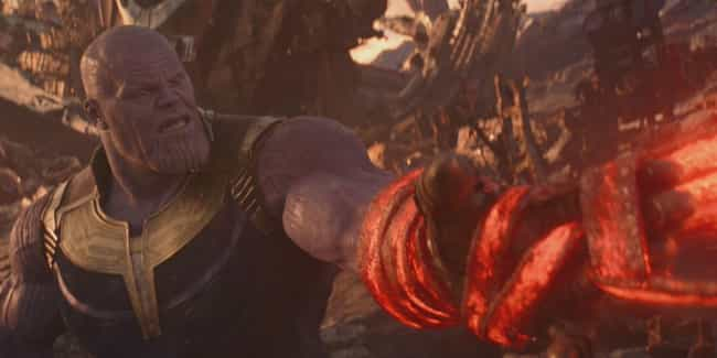 Thanos Fears The Crimson Bands... is listed (or ranked) 4 on the list Details Infinity War Fans Didn't Catch… Until They Watched It In 4K
