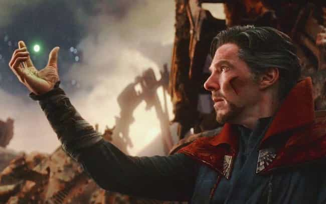Doctor Strange's Hands Still T... is listed (or ranked) 8 on the list Details Infinity War Fans Didn't Catch… Until They Watched It In 4K