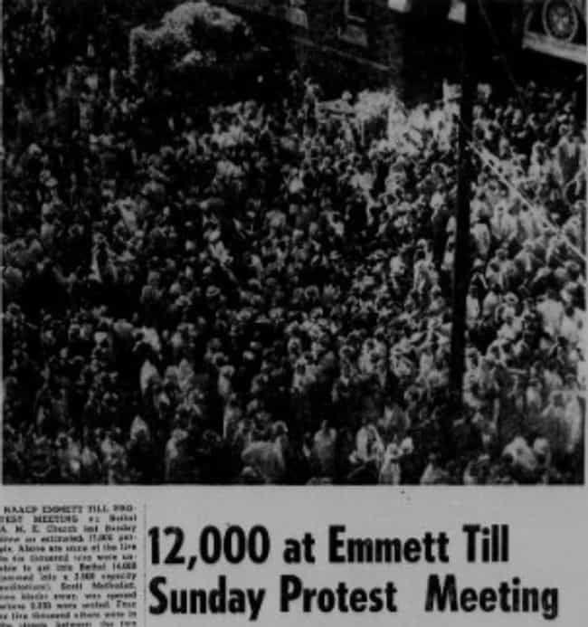 Protests Broke Out Around The ... is listed (or ranked) 3 on the list How The Murder Of Emmett Till Impacted The Civil Rights Movement - And Remains Relevant Today