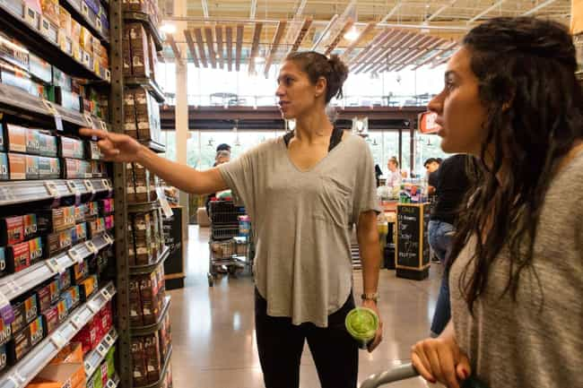 Sample Almost Anything In The ... is listed (or ranked) 1 on the list Whole Foods Hacks