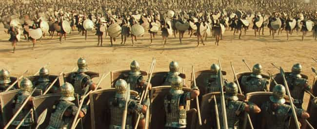 The Trojan War Lasts A D... is listed (or ranked) 1 on the list The Film Version Of 'Troy' Doesn't Even Come Close To The Brutality Of The Source Texts