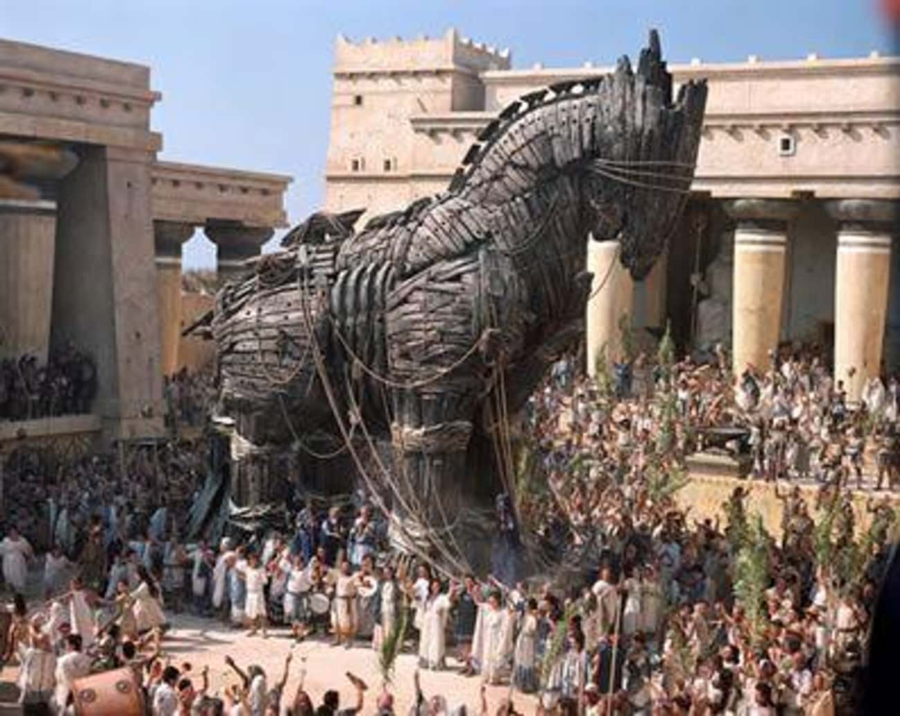 Achilles Is Dead Before The Trojan Horse Is Ever Built