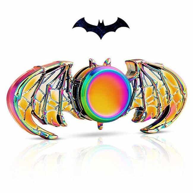 MAYBO SPORTS Wiitin Batman Fid... is listed (or ranked) 3 on the list The Best Batman Fidget Spinners