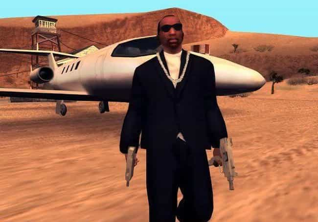 Carl 'CJ' Johnson - &#... is listed (or ranked) 1 on the list The Most Notorious Gangsters In Video Game History