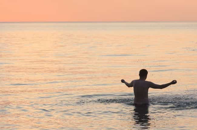 E. Coli Or Other Bacteria May ... is listed (or ranked) 2 on the list All The Reasons To Be Careful Going Swimming in Lake Michigan