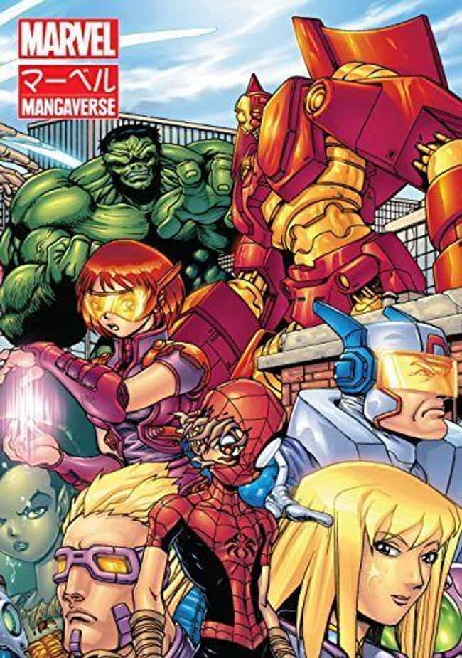 The Avengers is listed (or ranked) 4 on the list Manga-Style Adaptations Of American Shows And Movies That Will Make You Cringe