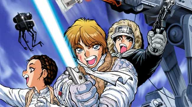 Star Wars is listed (or ranked) 2 on the list Manga-Style Adaptations Of American Shows And Movies That Will Make You Cringe