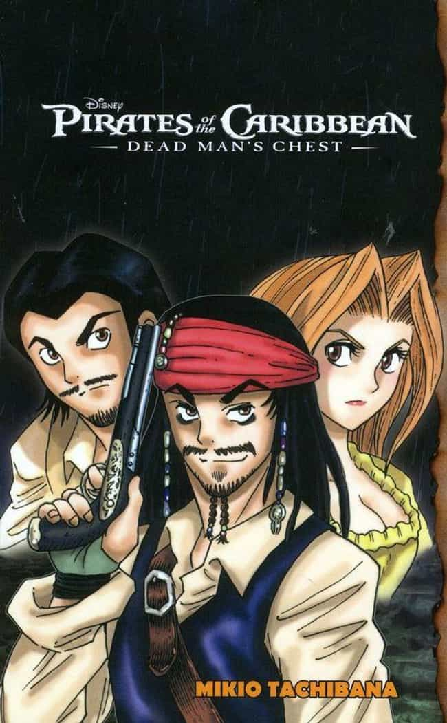 Pirates Of The Caribbean is listed (or ranked) 1 on the list Manga-Style Adaptations Of American Shows And Movies That Will Make You Cringe