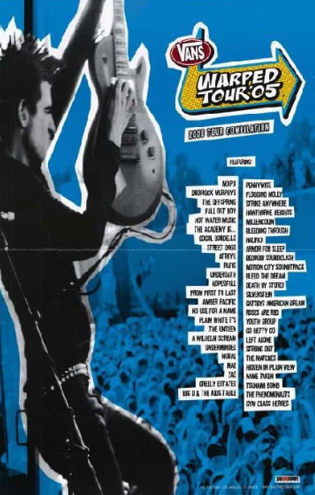 Warped Tour 2005 is listed (or ranked) 1 on the list All 24 Warped Tour Lineups, Ranked