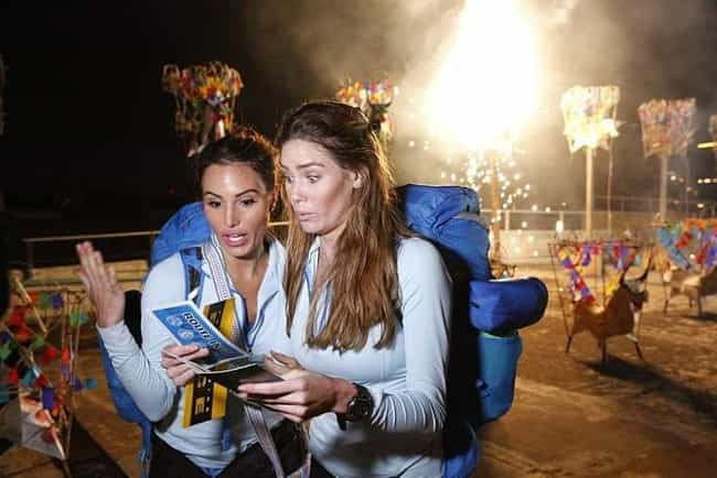 As Many As 100 Crew Memb... is listed (or ranked) 1 on the list What It's Really Like To Compete On 'The Amazing Race'